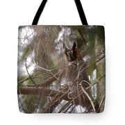 Hiding In The Trees Tote Bag