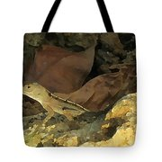 Hiding Out Tote Bag