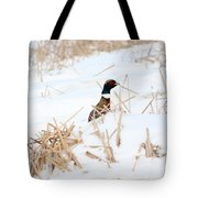 Hiding Rooster Tote Bag