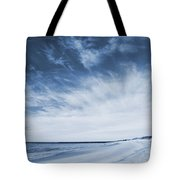 Higbee Beach Cyanotype Tote Bag