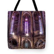 High Altar And Stained Glass Windows  Tote Bag