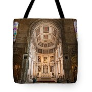 High Altar In Church Of Jeronimos Monastery Tote Bag