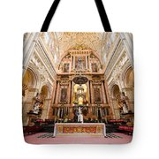 High Altar Of Cordoba Cathedral Tote Bag