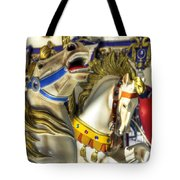 High And Boastful Neighs Tote Bag