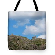 High As The Sky - Blue Sky - Cliffs Tote Bag