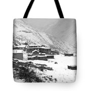 High Camp - The Himalayas - Nepal Tote Bag