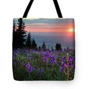 High Country Dawn Tote Bag