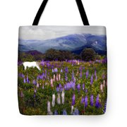 High Country Lupine Dreams Tote Bag