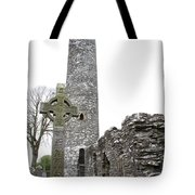 High Cross And Round Tower Monasterboice Tote Bag