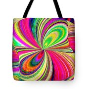 High Definition Color 1 Tote Bag