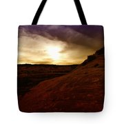 High Desert Clouds Tote Bag