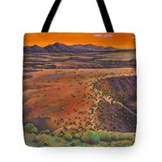 High Desert Evening Tote Bag