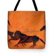 High Desert Horses - Study No. 1 Tote Bag