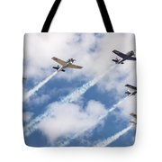 High Flying Five Tote Bag