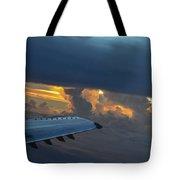 High In The Clouds II Tote Bag