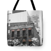 High Line View Of Architecture Black And White Tote Bag