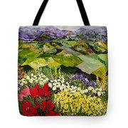 High Mountain Patch Tote Bag