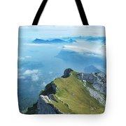 High On Nature At Mt. Pilatus Tote Bag