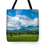High Peaks Area Of The Adirondack Tote Bag