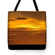 High Plains Sundown Tote Bag