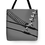 High Power Line - 4 Tote Bag
