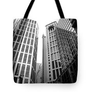 High Rise Building In The Financial Center Of Hong Kong Tote Bag