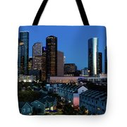 High Rise Buildings In Houston Tote Bag