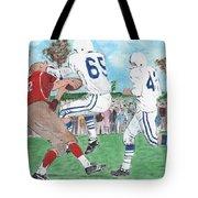 High School Football Tote Bag