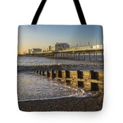 High Tide Approaching Tote Bag