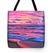 High Tide At San Onofre Tote Bag