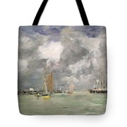 High Tide At Trouville Tote Bag