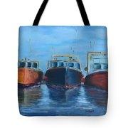 High Tide Breton Harbor Tote Bag