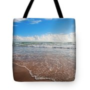 High Tide In South Padre  Tote Bag