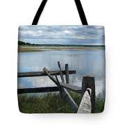 High Tide Lieutenant Island Marsh Tote Bag