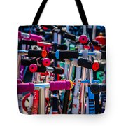 High Time To Buy A Scooter 1 Vertical Tote Bag