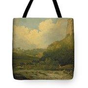 High Tor, Matlock, 1811 Tote Bag