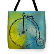 High Wheel Bicycle Tote Bag