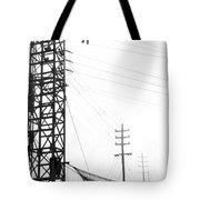 High Wire Suicide Rescue Tote Bag