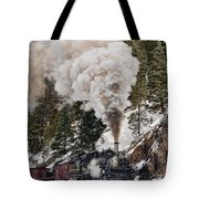 Highball Through Cascade Canyon Tote Bag