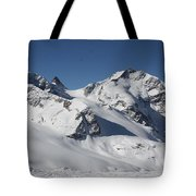 Highest Peak St Mortiz Tote Bag