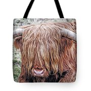Highlands Coo Tote Bag
