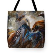 Hightailing It Out Of There Tote Bag