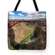 Highway 97 Bridge Tote Bag