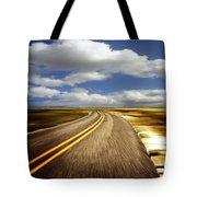 Highway Run Tote Bag