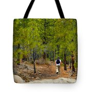Hike On 2 Tote Bag