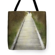 Hikers On Appalachian Trail Tote Bag