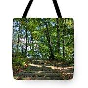 Hiking In Virginia Kendall Tote Bag by Kristin Elmquist