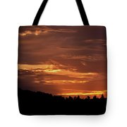 Hill Country Sunrise Tote Bag