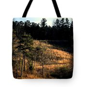 Hill Of Gold Tote Bag