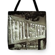 Hill Of The Cross Tote Bag